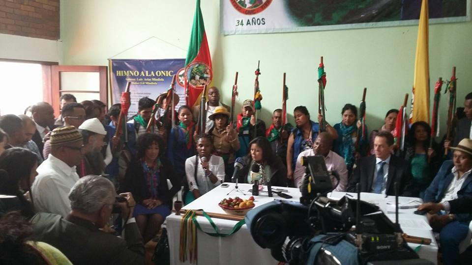 Instalada la Comisión Étnica para la Paz y La Defensa de los Derechos Territoriales
